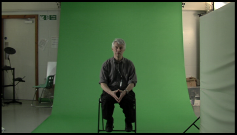 Composition 2 - Green screen footage. Once we had filmed the lighting using ...